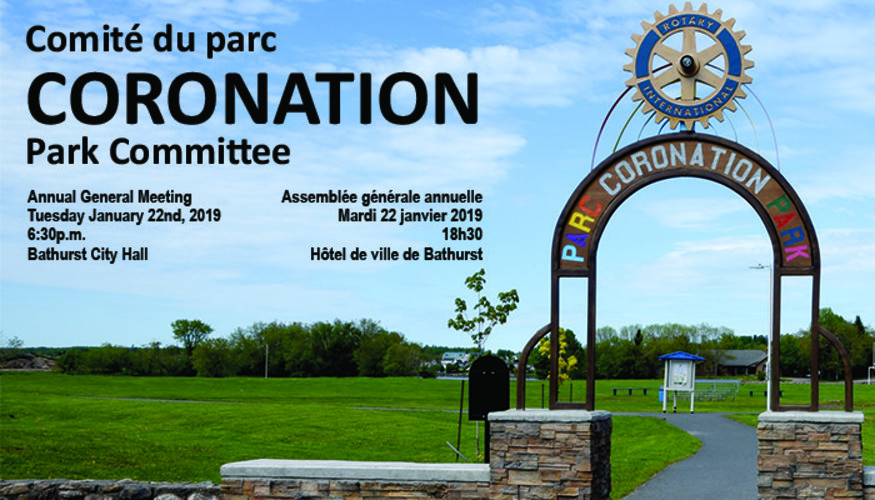 CORONATION PARK COMMITTEE – ANNUAL GENERAL MEETING