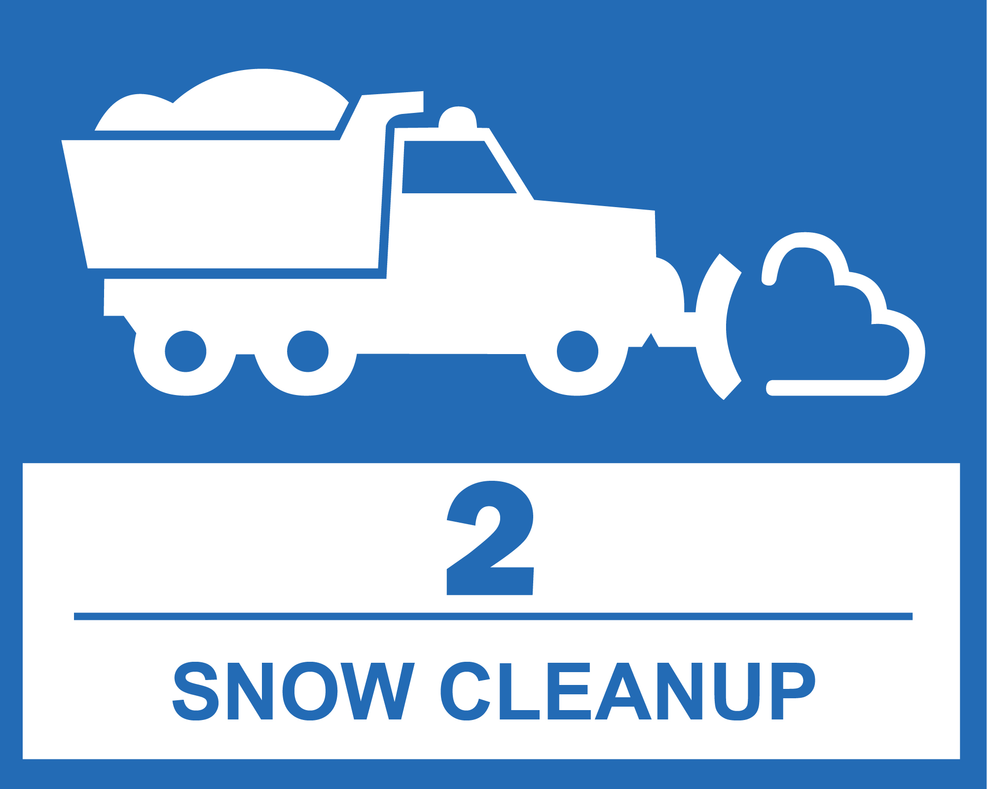 2 - Snow Cleanup
